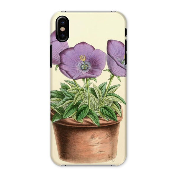 Campanula Turbinata 1869 Phone Case Iphone X / Snap Gloss & Tablet Cases