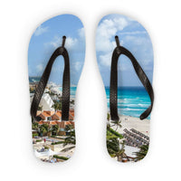 Cancun City On Beachside Flip Flops S Accessories