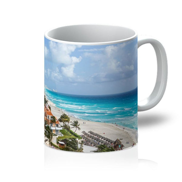 Cancun City On Beachside Mug 11Oz Homeware