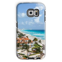 Cancun City On Beachside Phone Case Galaxy S6 Edge / Tough Gloss & Tablet Cases