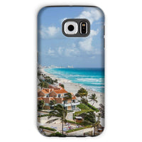 Cancun City On Beachside Phone Case Galaxy S6 / Tough Gloss & Tablet Cases