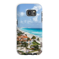 Cancun City On Beachside Phone Case Galaxy S7 Edge / Tough Gloss & Tablet Cases