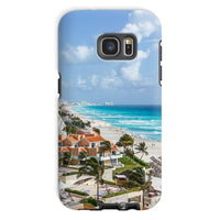 Cancun City On Beachside Phone Case Galaxy S7 / Tough Gloss & Tablet Cases