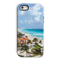 Cancun City On Beachside Phone Case Iphone 5/5S / Tough Gloss & Tablet Cases