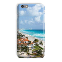 Cancun City On Beachside Phone Case Iphone 6 Plus / Snap Gloss & Tablet Cases