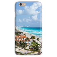 Cancun City On Beachside Phone Case Iphone 6S / Snap Gloss & Tablet Cases