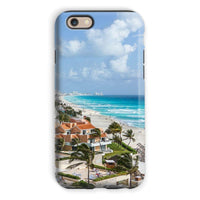 Cancun City On Beachside Phone Case Iphone 6S / Tough Gloss & Tablet Cases
