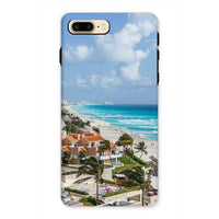 Cancun City On Beachside Phone Case Iphone 7 Plus / Tough Gloss & Tablet Cases