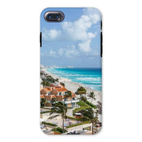 Cancun City On Beachside Phone Case Iphone 8 / Tough Gloss & Tablet Cases