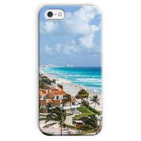 Cancun City On Beachside Phone Case Iphone Se / Snap Gloss & Tablet Cases