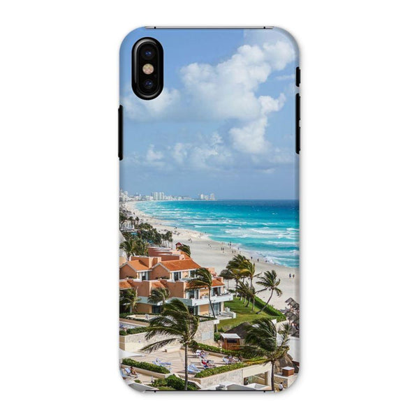 Cancun City On Beachside Phone Case Iphone X / Snap Gloss & Tablet Cases