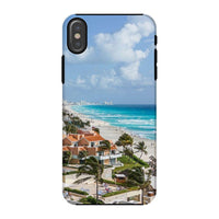 Cancun City On Beachside Phone Case Iphone X / Tough Gloss & Tablet Cases