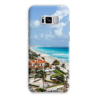 Cancun City On Beachside Phone Case Samsung S8 Plus / Snap Gloss & Tablet Cases