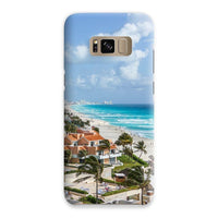 Cancun City On Beachside Phone Case Samsung S8 / Snap Gloss & Tablet Cases