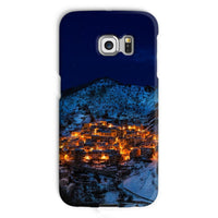 Castelmezzano Town Phone Case Galaxy S6 Edge / Snap Gloss & Tablet Cases