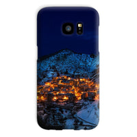 Castelmezzano Town Phone Case Galaxy S7 / Snap Gloss & Tablet Cases