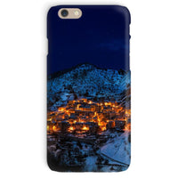Castelmezzano Town Phone Case Iphone 6 / Snap Gloss & Tablet Cases