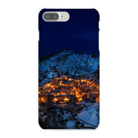 Castelmezzano Town Phone Case Iphone 8 Plus / Snap Gloss & Tablet Cases