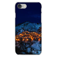Castelmezzano Town Phone Case Iphone 8 / Snap Gloss & Tablet Cases