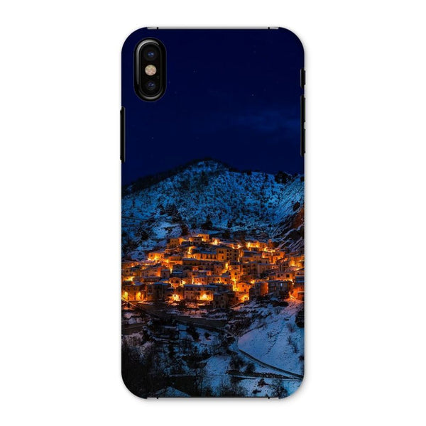 Castelmezzano Town Phone Case Iphone X / Snap Gloss & Tablet Cases