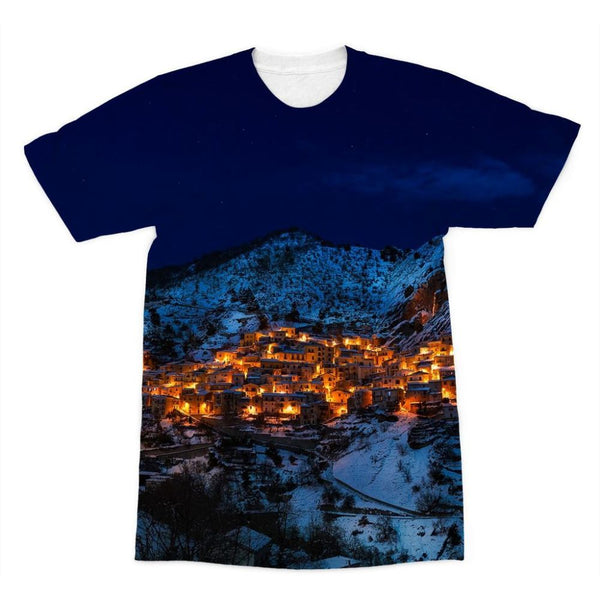 Castelmezzano Town Sublimation T-Shirt Xs Apparel