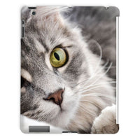 Cat Lying With Eyes Open Tablet Case Ipad 2 3 4 Phone & Cases