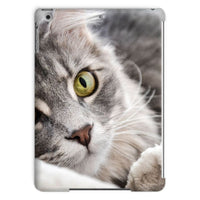 Cat Lying With Eyes Open Tablet Case Ipad Air 2 Phone & Cases