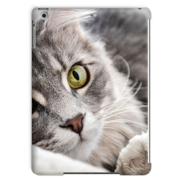 Cat Lying With Eyes Open Tablet Case Ipad Air Phone & Cases