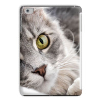 Cat Lying With Eyes Open Tablet Case Ipad Mini 2 3 Phone & Cases