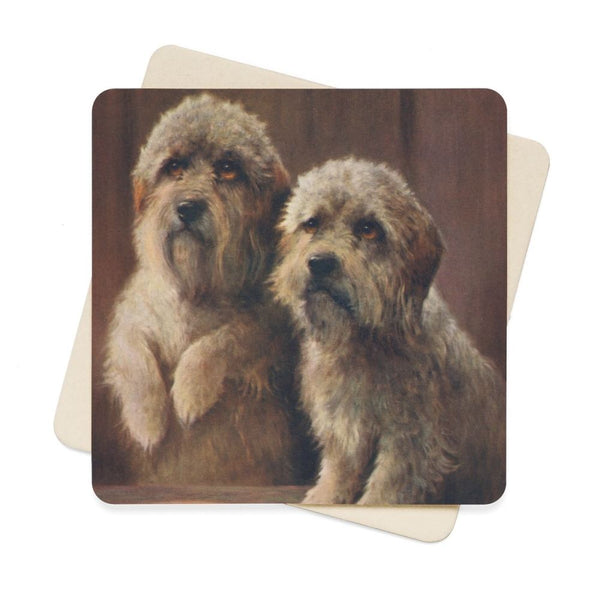 Cheviot Lilian (1884-1932) - Wonder Book Of Pets The Dandies Square Paper Coaster Set - 6Pcs 4 X In Home Decor