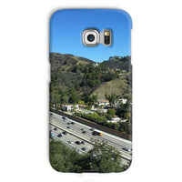 City In Mountains Highway Phone Case Galaxy S6 Edge / Snap Gloss & Tablet Cases