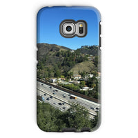 City In Mountains Highway Phone Case Galaxy S6 Edge / Tough Gloss & Tablet Cases