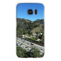 City In Mountains Highway Phone Case Galaxy S6 / Snap Gloss & Tablet Cases