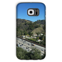 City In Mountains Highway Phone Case Galaxy S6 / Tough Gloss & Tablet Cases