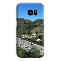 City In Mountains Highway Phone Case Galaxy S7 / Snap Gloss & Tablet Cases