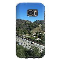 City In Mountains Highway Phone Case Galaxy S7 / Tough Gloss & Tablet Cases
