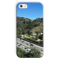 City In Mountains Highway Phone Case Iphone 5/5S / Snap Gloss & Tablet Cases