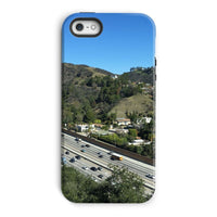 City In Mountains Highway Phone Case Iphone 5/5S / Tough Gloss & Tablet Cases