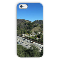 City In Mountains Highway Phone Case Iphone 5C / Snap Gloss & Tablet Cases