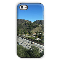 City In Mountains Highway Phone Case Iphone 5C / Tough Gloss & Tablet Cases