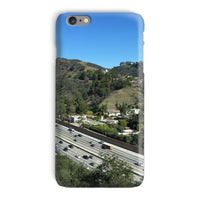 City In Mountains Highway Phone Case Iphone 6 Plus / Snap Gloss & Tablet Cases