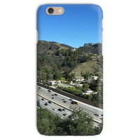 City In Mountains Highway Phone Case Iphone 6S / Snap Gloss & Tablet Cases