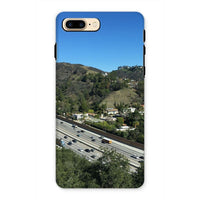 City In Mountains Highway Phone Case Iphone 7 Plus / Tough Gloss & Tablet Cases