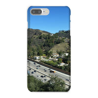 City In Mountains Highway Phone Case Iphone 8 Plus / Snap Gloss & Tablet Cases