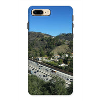 City In Mountains Highway Phone Case Iphone 8 Plus / Tough Gloss & Tablet Cases