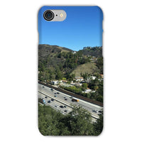 City In Mountains Highway Phone Case Iphone 8 / Snap Gloss & Tablet Cases