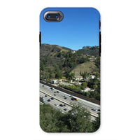 City In Mountains Highway Phone Case Iphone 8 / Tough Gloss & Tablet Cases