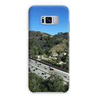 City In Mountains Highway Phone Case Samsung S8 Plus / Snap Gloss & Tablet Cases