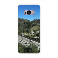 City In Mountains Highway Phone Case Samsung S8 Plus / Tough Gloss & Tablet Cases