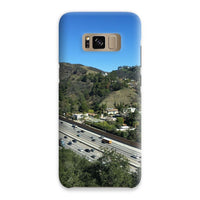 City In Mountains Highway Phone Case Samsung S8 / Snap Gloss & Tablet Cases
